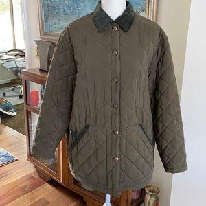 Ralph Lauren quilted barn coat